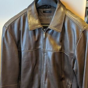 Leather lambskin jacket